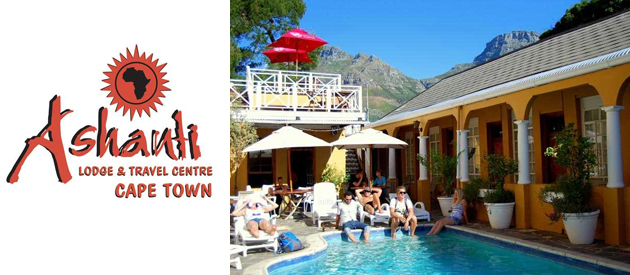 ASHANTI LODGE, CAPE TOWN